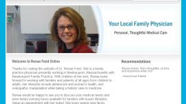 Renae Freid Website